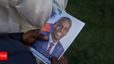 Tensions high as Haiti says farewell to slain president - Times of India