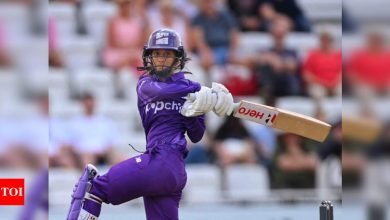 The Hundred: Jemimah Rodrigues stars again for Northern Superchargers   Cricket News - Times of India