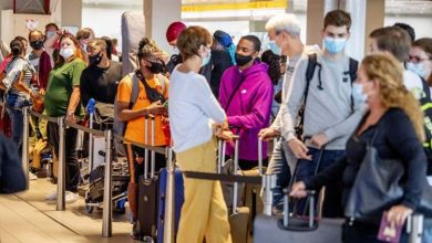 'Third world conditions': Britons more 'at risk' of catching Covid at Mallorca airport