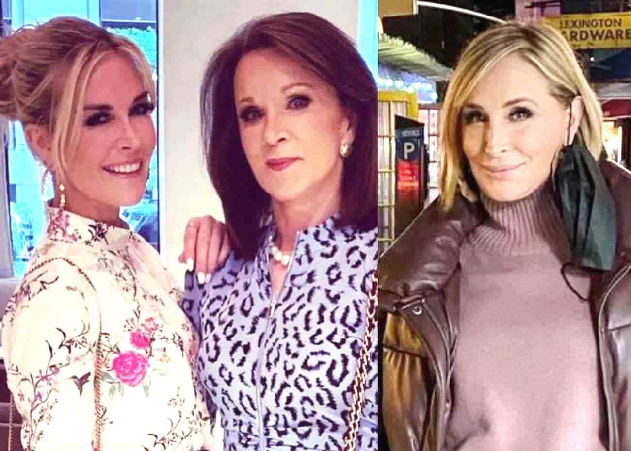 Tinsley Mortimer's Mom Dale Mercer Defends Sonja Morgan After RHONY Costars Accuse Her of Having Drinking Problem as Fans Weigh in