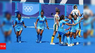 Tokyo Olympics 2020: India beat South Africa 4-3 to keep quarterfinal hopes alive | Tokyo Olympics News - Times of India