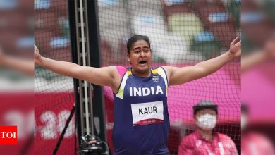 Tokyo Olympics 2020: Kamalpreet Kaur finishes second in discus qualification to make finals | Tokyo Olympics News - Times of India