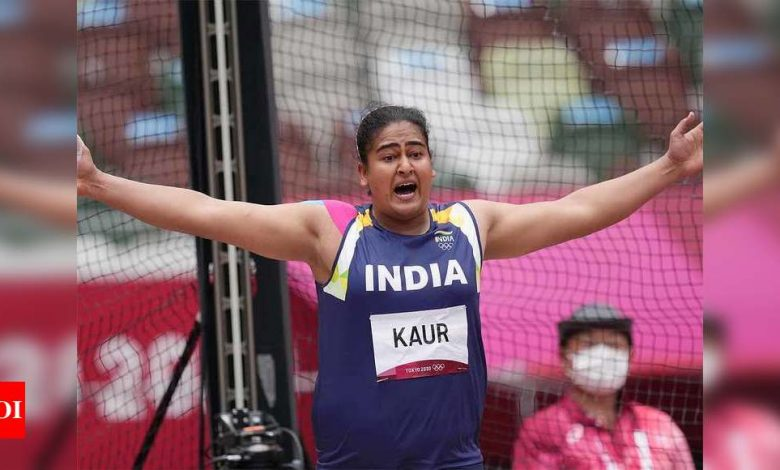 Tokyo Olympics 2020: Kamalpreet Kaur finishes second in discus qualification to make finals   Tokyo Olympics News - Times of India