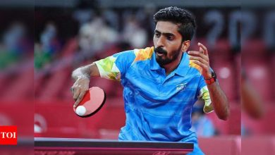 Tokyo Olympics 2020: TT player G Sathiyan makes early exit   Tokyo Olympics News - Times of India