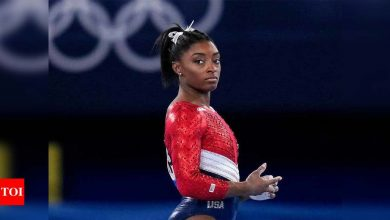 Tokyo Olympics 2020: US gymnast Simone Biles out of two more finals | Tokyo Olympics News - Times of India