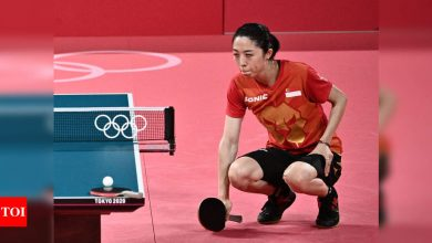 Tokyo Olympics 2020: Yu Mengyu fairytale run to table tennis semifinals ends in tears, pain   Tokyo Olympics News - Times of India