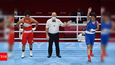 Tokyo Olympics: Boxer Pooja Rani bows out after losing to Li Qian in quarters | Tokyo Olympics News - Times of India
