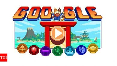 Tokyo Olympics Day 8: Google Doodle Champion Island Games offer marathon game - Times of India