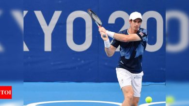 Tokyo Olympics: Defending champion Andy Murray out of singles due to injury   Tokyo Olympics News - Times of India