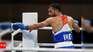 Tokyo Olympics: I was in tears after first round exit and said sorry to my parents: Boxer Vikas Krishan   Tokyo Olympics News - Times of India
