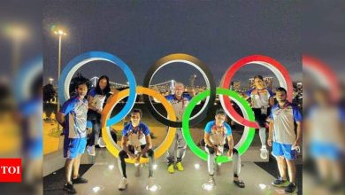 Tokyo Olympics: Indian boxers training at Games Village as boxing venue far | Tokyo Olympics News - Times of India