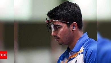 Tokyo Olympics: Saurabh Chaudhary finishes seventh in 10m pistol final after shining in qualifications   Tokyo Olympics News - Times of India
