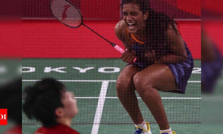 Tokyo Olympics: Sizzling PV Sindhu sets up Tai Tzu-Ying date | Tokyo Olympics News - Times of India
