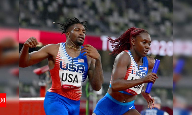 Tokyo Olympics: US mixed relay team reinstated after appeal | Tokyo Olympics News - Times of India