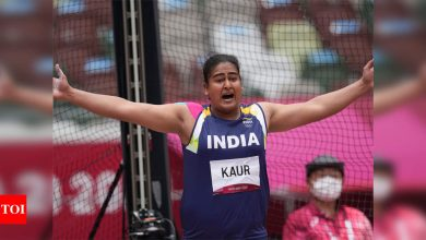 Tokyo Olympics: When Kamalpreet was throwing the discus to enter the final, Rakhi Tyagi was coaching her from Patiala | Tokyo Olympics News - Times of India