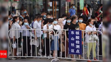 Two more parts of China report Covid outbreaks - Times of India