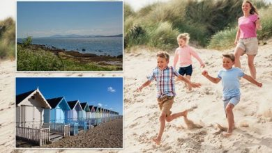 UK beaches guaranteed 'the most sunshine' as Britons make the most of summer heatwave