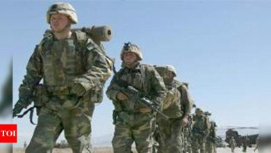 US forces leave main Afghan airbase amid Taliban surge - Times of India