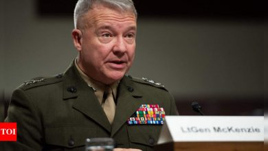 US general Kenneth McKenzie vows to continue air strikes supporting Afghan troops - Times of India