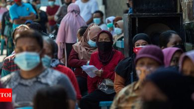 Virus-wracked Indonesia to loosen Covid-19 curbs - Times of India
