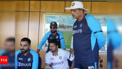 Watch: Virat Kohli and co. cheer from Durham as India win thriller against Sri Lanka | Cricket News - Times of India