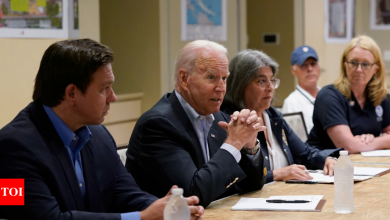'We can do it': Joe Biden brings message of comfort to Surfside - Times of India