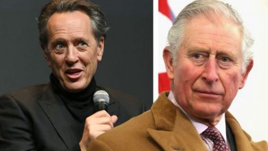 'What the hell are you doing?' Richard E Grant called out over Prince Charles meeting