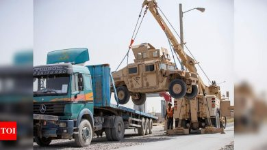 'What was the point?' Afghans rue decades of war as US quits Bagram - Times of India