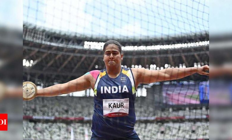 Will give best shot to win Olympic medal: Kamalpreet Kaur tells father | Tokyo Olympics News - Times of India