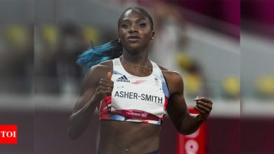 World champion Asher-Smith pulls out of Olympic 200m | Tokyo Olympics News - Times of India