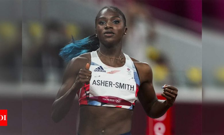 World champion Asher-Smith pulls out of Olympic 200m   Tokyo Olympics News - Times of India