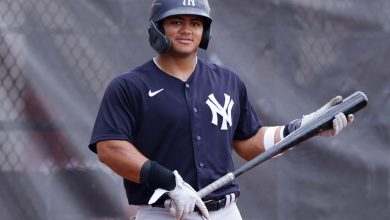Yankees' Jasson Dominguez has huge first game after promotion