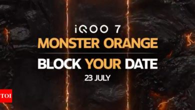 iQoo 7 Monster Orange to launch in India on July 23, confirms company - Times of India