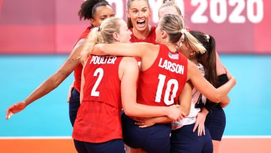 US women's volleyball team wins their first Olympic gold