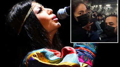 Afghanistan's biggest female pop star escapes amid Taliban 'shock'
