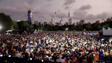 We Love NYC concert: Music history before Central Park was washed out