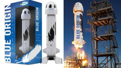Model of Jeff Bezos' rocket that looks like a sex toy selling for $69