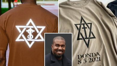 Kanye West accused of stealing 'Donda' logo from black-owned company