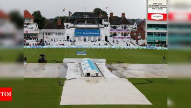 1st Test: Rain takes away from India a shot at victory in series-opener, match ends in draw | Cricket News - Times of India