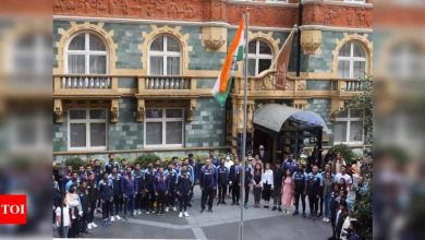 75th Independence Day: Team India hoists national flag ahead of Day 4 of Lord's Test   Cricket News - Times of India