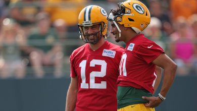 Aaron Rodgers working on relationship with Jordan Love after crazy offseason