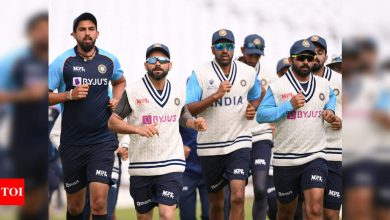 All eyes on Captain Kohli's choice of players as India brace for tough English Test | Cricket News - Times of India