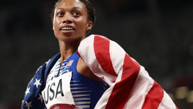 Allyson Felix becomes most decorated American track star with US win