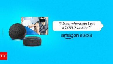 Amazon Alexa can now help you find where to get your dose of vaccine, get tested for Covid-19 - Times of India