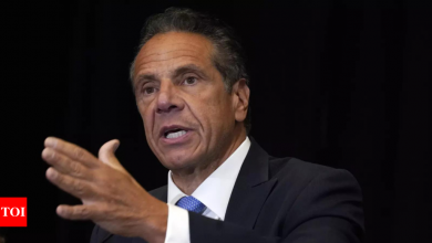 Andrew Cuomo: New York Governor Andrew Cuomo resigns over sexual harassment allegations   World News - Times of India