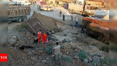 At least 28 killed in Lebanon fuel tank explosion: Health officials - Times of India