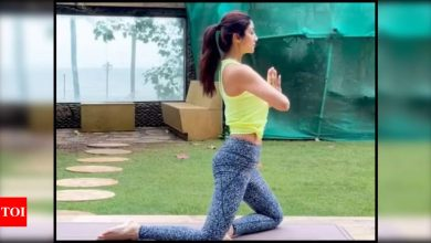 Be your own warrior: Shilpa Shetty talks about 'low and high point' as she shares a motivational yoga video amid husband Raj Kundra's pornography case - Times of India