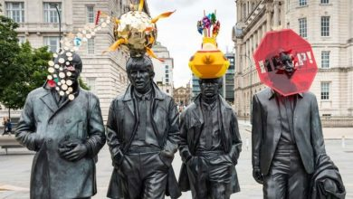 Beatles statue makeover in Liverpool is slammed by fans - 'Looks ridiculous!'