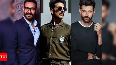 Bell Bottom Trailer: Ajay Devgn, Hrithik Roshan laud Akshay Kumar for 'taking the lead' in making film a theatrical release - Times of India