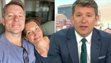 Ben Shephard attempts to 'make up' with wife after she gave him 'grief' over Instagram pic